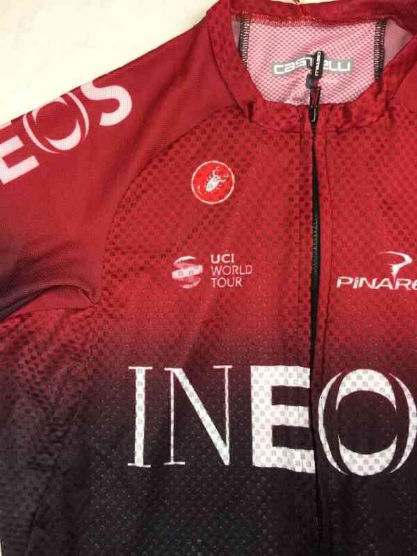 Ineos 2 resultat - Maillot Cyclisme INEOS Team 2019 Castelli Climber's 3.0 Rosso Corsa Pinarello Tour de France Neuf avec étiquette Homme