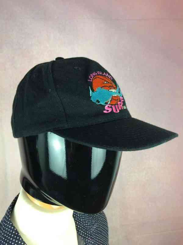 LONG ISLAND SURF USBL Casquette Vintage annees 90s Otto. 3 - LONG ISLAND SURF USBL Casquette Vintage années 90s Otto Cap Made in Korea 15% laine Brodé TruckerUSA