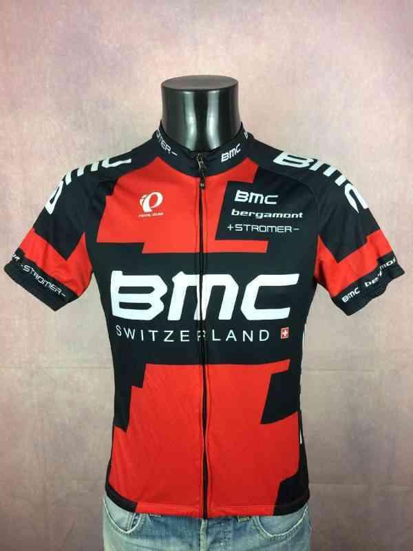 Maillot BMC Team 2014 Pearl Izumi Bergamont Stromer La...