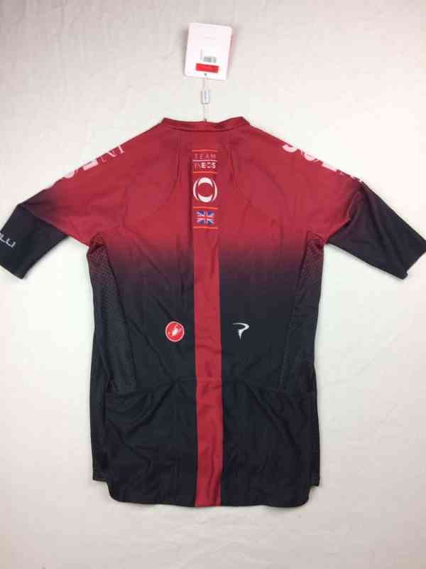 Maillot Cyclisme INEOS Team 2019 Castelli Climbers 3.0.. 13 1 - Maillot Cyclisme INEOS Team 2019 Castelli Climber's 3.0 Rosso Corsa Pinarello Tour de France Neuf avec étiquette Homme