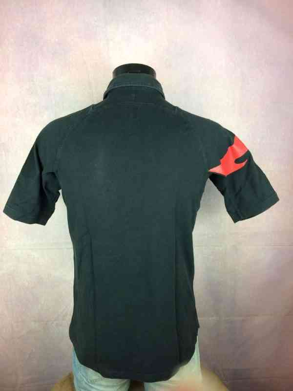 STADE TOULOUSAIN Maillot Polo Home Nike Vintage Top 14 4 - STADE TOULOUSAIN Maillot Polo Home Nike Vintage Top 14 Toulouse XV Rugby