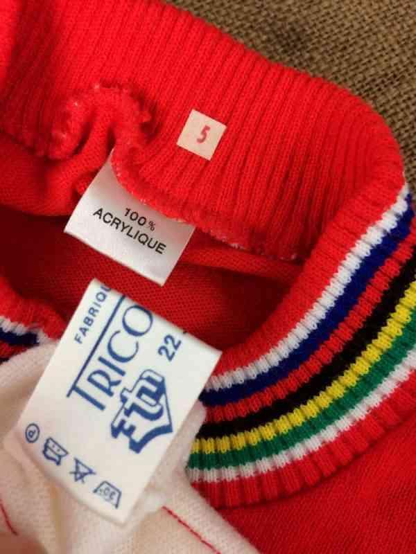 TRICOT NORET Maillot Made in France Vintage annees 80s 1 - TRICOT NORET Maillot Made in France Vintage années 80s Neuf et Jamais porté Cyclisme Eroica