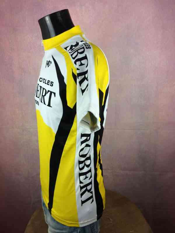 TRICOT NORET Maillot Maillot Manches Longues Made in 2 - TRICOT NORET Maillot + Maillot Manches Longues Made in France Vintage années 90s Cycles Robert Avignon Cyclisme Eroica