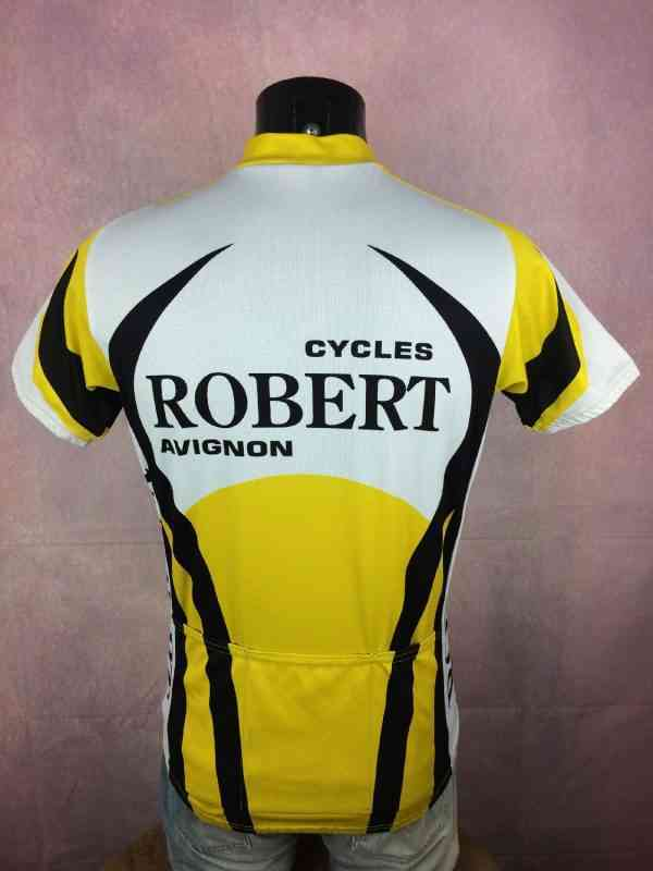 TRICOT NORET Maillot Maillot Manches Longues Made in 3 - TRICOT NORET Maillot + Maillot Manches Longues Made in France Vintage années 90s Cycles Robert Avignon Cyclisme Eroica