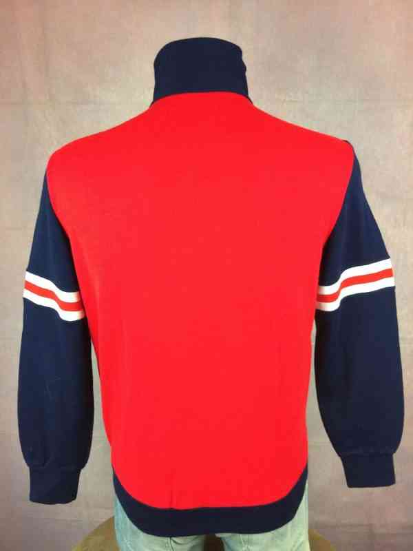 Veste Vintage ACTION Annees 70s Made in Italy Sport Ski.. 5 - Veste Vintage ACTION Années 70s Made in Italy Sport Ski Football Homme