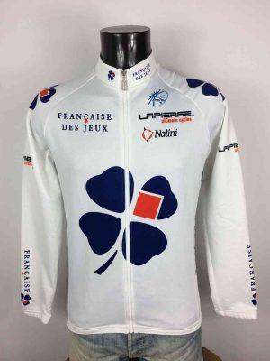 Veste cyclisme FRANCAISE DES JEUX 2005 Lapierre UCI