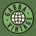 Gabba Vintage Logo Vert