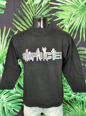 Sweat Spice Girls, Vintage Années 90s, Official LicenseSpice Wear, Couleur Noir, Pop Dance Star Unisexe