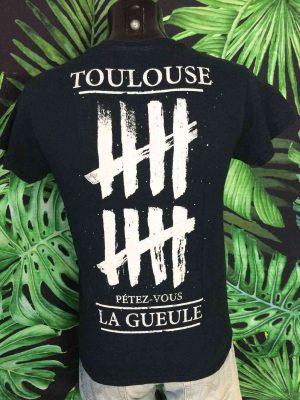 T Shirt ALEA JACTA EST 2016 Tank 10 F Years Toulouse 1 - Vetement Global