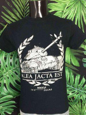 T-Shirt ALEA JACTA EST, Edition 2016 Tank, 10 F..... Years, Toulouse Petez Vous La Gueule, Hardcore Metal Homme