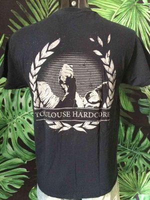 T-Shirt ALEA JACTA EST, Edition Toulouse Hardcore, Noir Metal Homme