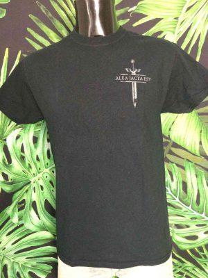 T Shirt ALEA JACTA EST Edition Toulouse Hardcore Noir Metal Homme 2 - Vetement Global