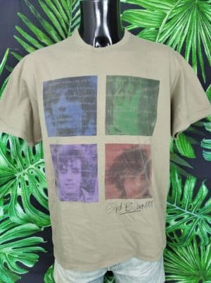 T-Shirt Syd Barrett, Official Licence, Année 2010, Marque Starworld, Pink Floyd Psyché Rock Pop Homme