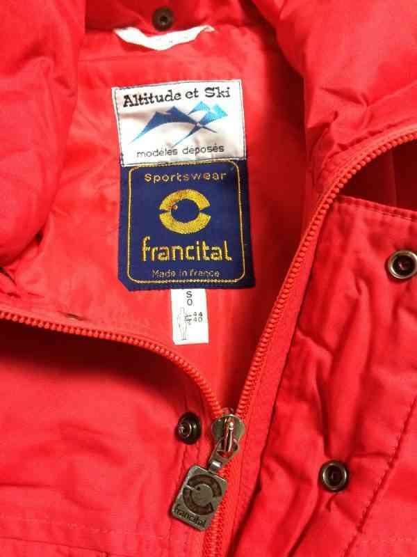 veste vintage francital 4 resultat - Veste Vintage FRANCITAL Années 80s Made in France Série Altitude et Ski NylonRembourré Unisexe