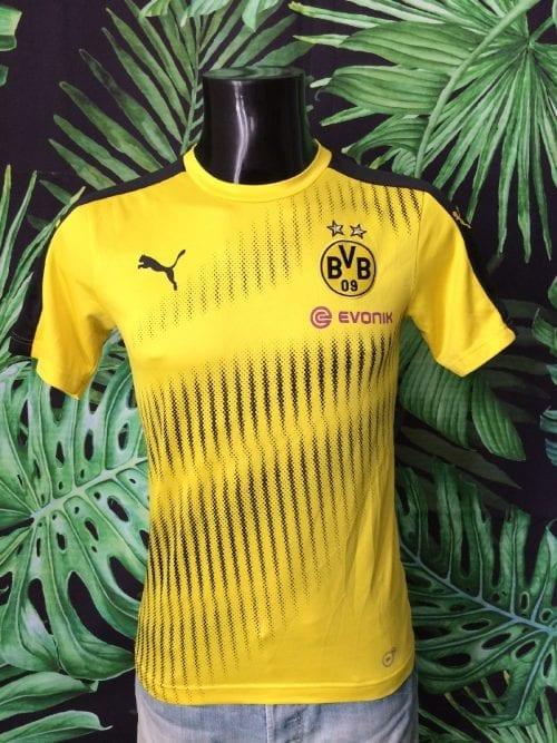 Borussia Dortmund FC Maillot, saison 2011 - 2012, Version Training, Sponsor Evonik, Replica, Taille S, Couleur Jaune - Noir, BVB Bundesliga Football Homme
