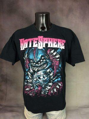T-Shirt Hatesphere, Année 2010, Taille XL, Couleur Noir, Metal Thrash Death Homme