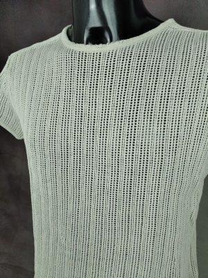 T-Shirt King, Le tricot qui dure, Véritable vintage années 60s, Punk, Pur coton, Mailles Filet, Taille M, Couleur Blanc, Sixties Seventies Sex Pistols France Homme