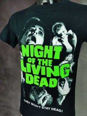 NIGHT OF THE LIVING DEAD T-Shirt The Won't Stay Dead